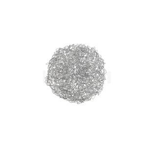 Catellani & Smith Fil de Fer Ovale Parete/Soffitto aluminium, ø45 cm