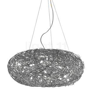 Catellani & Smith Fil de Fer Ovale Sospensione Aluminium, ø110 cm