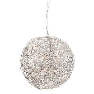 Catellani & Smith Fil de Fer Sospensione LED Aluminium, ø100 cm