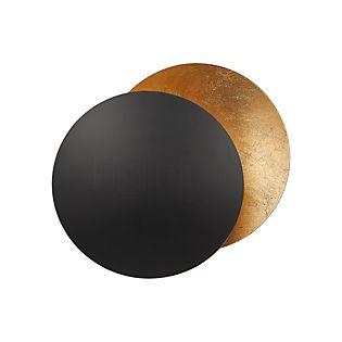 Catellani & Smith Lederam W ø17 cm nero/dorato