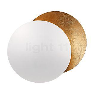 Catellani & Smith Lederam W ø25 cm bianco/dorato