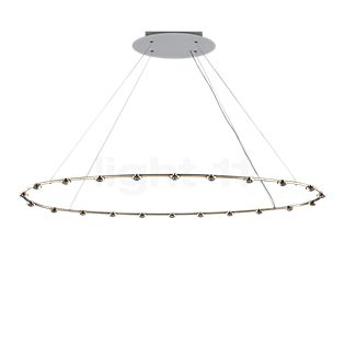 Catellani & Smith Petites Lentilles Pendant Light LED brass