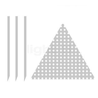 Catellani & Smith Plaque de montage avec piquet à enterrer noir