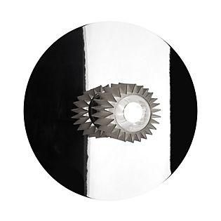 DCW In The Sun 380, lámpara de pared plateado/malla plateada