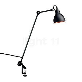 DCW Lampe Gras No 201 clamp light black round black/copper