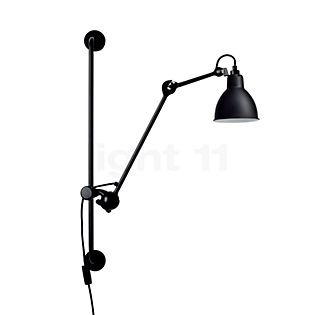 DCW Lampe Gras No 210, lámpara de pared negro