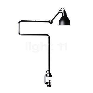 DCW Lampe Gras No 211/311 Tafellamp met tafelbevestiging zwart