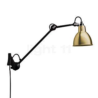 DCW Lampe Gras No 222 Væglampe sort messing