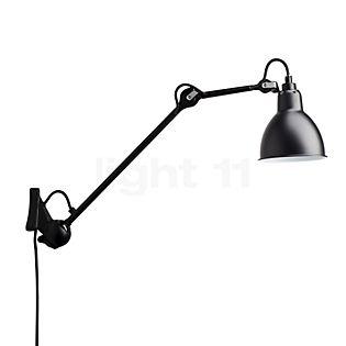 DCW Lampe Gras No 222, lámpara de pared negra negro