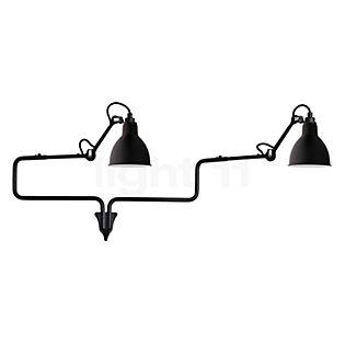 DCW Lampe Gras No 303 Double Applique noir