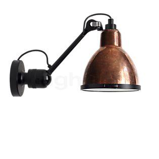 DCW Lampe Gras No 304 XL Outdoor Seaside Wandlamp zwart koper ruw