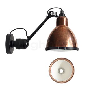 DCW Lampe Gras No 304 XL Outdoor Seaside sort Væglampe cooper rå/hvid