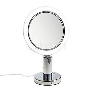 Decor Walther BS 12/V Miroir de maquillage à poser LED chrome brillant