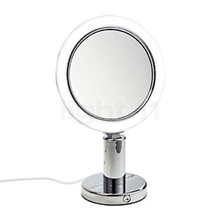 Decor Walther BS 12/V Specchio luminoso da tavolo per trucco LED cromo lucido
