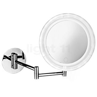 Decor Walther BS 17 Touch Wall-Mounted Cosmetic Mirror LED chrome glossy