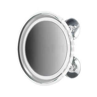 Decor Walther BS 18 Touch, espejo de aumento a pared LED cromo