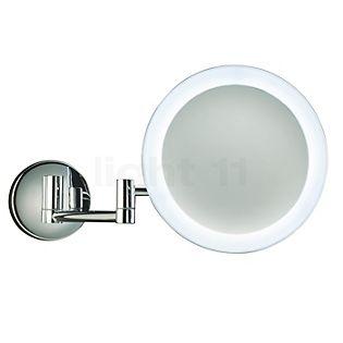 Decor Walther BS 60 N, espejo de aumento a pared LED cromo brillo