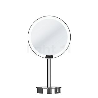 Decor Walther Just Look Miroir de maquillage à poser LED chrome brillant