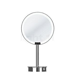 Decor Walther Just Look Specchio luminoso da tavolo per trucco LED cromo lucido