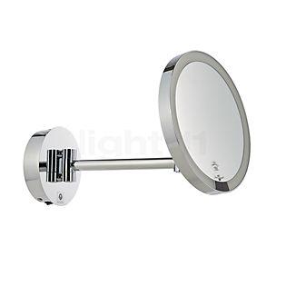 Decor Walther Just Look Wall-Kosmetikspejl, hængende LED med direkte nettilslutning sort mat