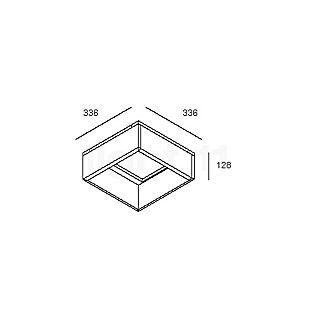 Delta Light Grid In ZB 4 Box L aluminiumgrau , Auslaufartikel
