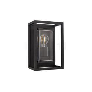 Delta Light Montur M, lámpara de pared negro