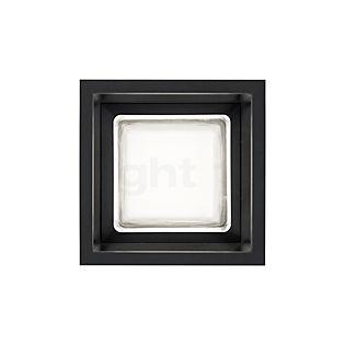 Delta Light Montur S, lámpara de pared LED negro