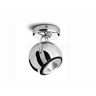 Fabbian Beluga Steel Applique/Plafonnier chrome