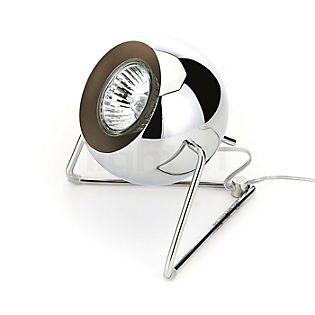 Fabbian Beluga Steel, lámpara de sobremesa acero inoxidable pulido
