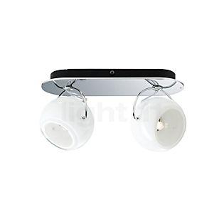 Fabbian Beluga White Decken-/Wandleuchte 2-flammig opalglas weiß