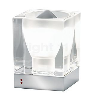 Fabbian Cubetto Tischleuchte E14 transparent