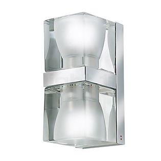 Fabbian Cubetto Wandleuchte transparent