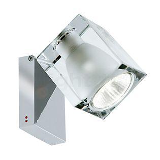 Fabbian Cubetto, lámpara de techo y foco de pared GU10 transparente