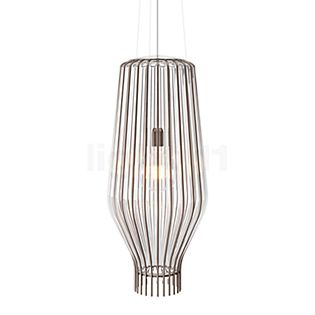 Fabbian Saya Hanglamp 31 cm wit/roest