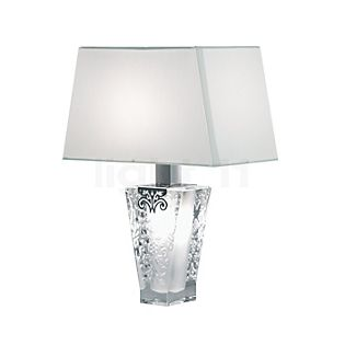 Fabbian Vicky table lamp with screen white