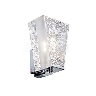 Fabbian Vicky wall light chrome glossy