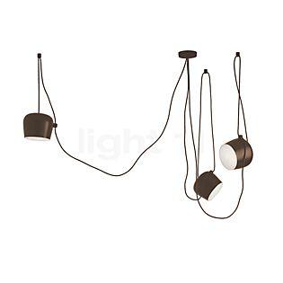 Flos Aim Sospensione LED 3-lichts bruin