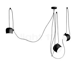 Flos Aim and Aim Small Mix LED 3 lamps black