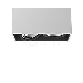 Flos Architectural Compass Box 2 H135 QR111 Aluminium eloxiert