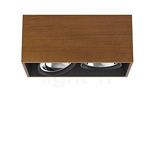 Flos Architectural Compass Box 2 H135 QR111 Teakholz