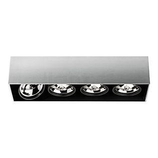 Flos Architectural Compass Box 4 H135 QR111 Aluminium eloxiert