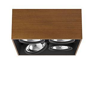 Flos Architectural Compass Box Square H135 QR111 legno teak