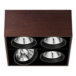 Flos Architectural Compass Box Square H135 QR111 wenge