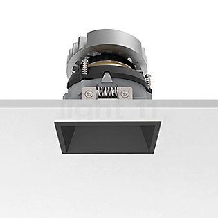 Flos Architectural Easy Kap 80 Einbauspot quadratisch einstellbar LED schwarz, 18°