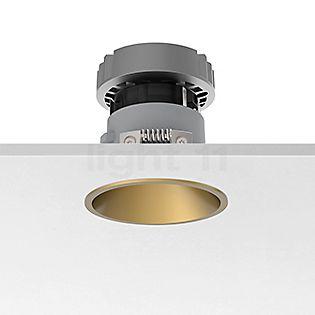 Flos Architectural Easy Kap 80 Einbauspot rund LED Gold, 19°
