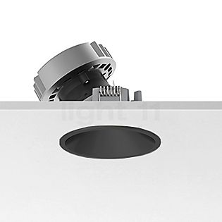 Flos Architectural Easy Kap 80 Einbauspot rund LED Wallwasher schwarz, 27°