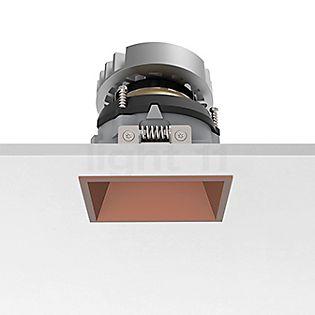 Flos Architectural Easy Kap 80 Loftindbygningslampe firkant justerbar LED kobber, 19°