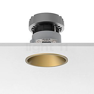 Flos Architectural Easy Kap 80 Plafondinbouwlamp rond LED goud, 19°