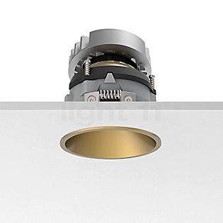 Flos Architectural Easy Kap 80 Plafonnier encastré rond ajustable LED doré, 26°