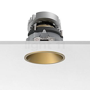 Flos Architectural Easy Kap 80 Recessed Ceiling Light round adjustable LED gold, 19°